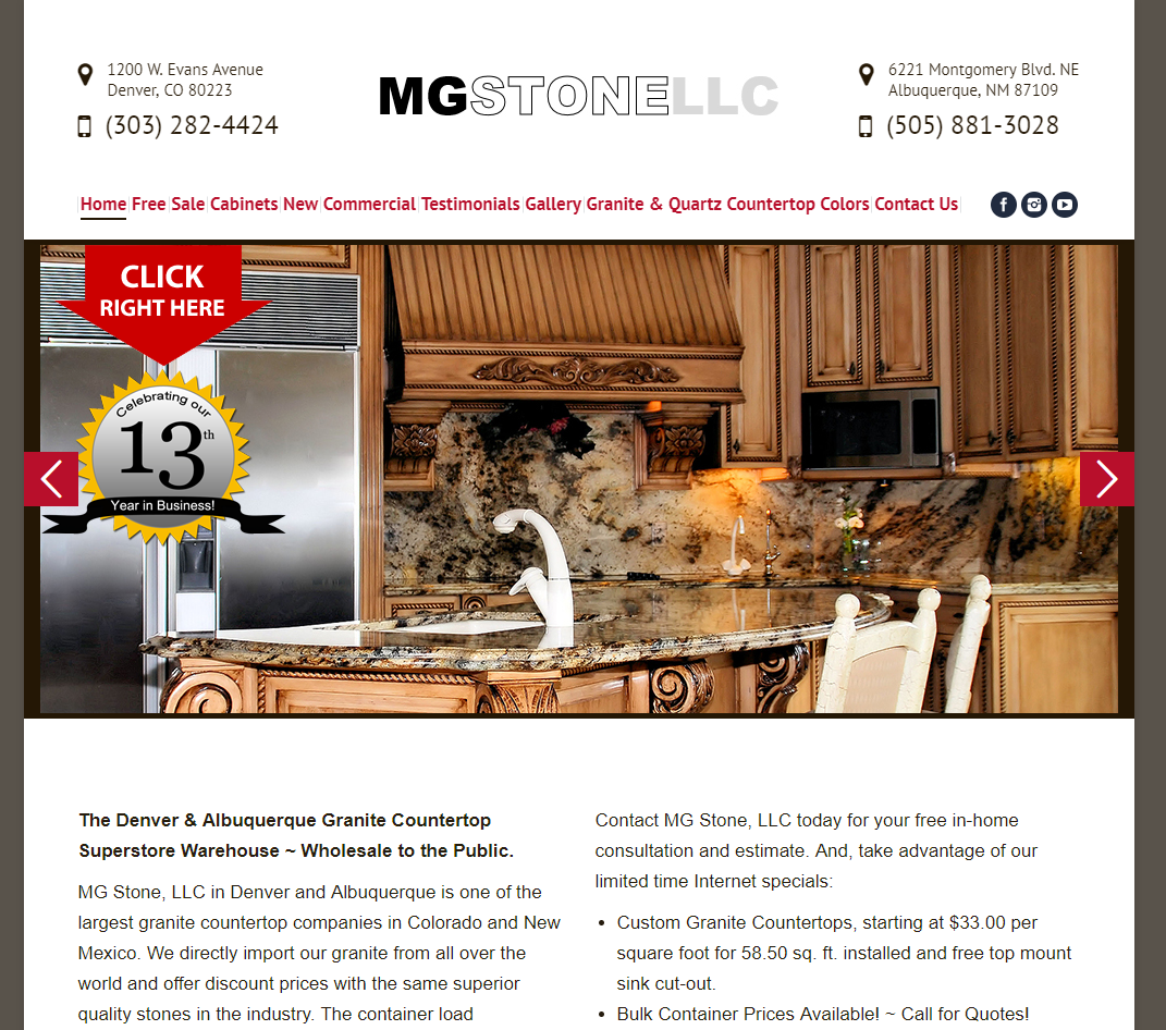 MG STONE, LLC