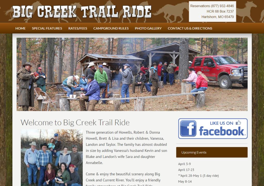 Big Creek Trail Ride